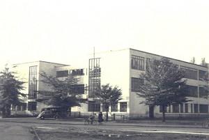 """Das """"Glashaus"""", Sitz der Adolf-Reichwein-Hochschule in Celle"""