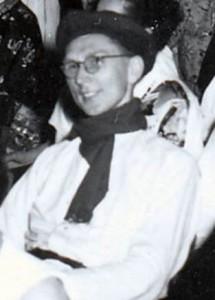 Walter Söthje bei der Faschingsfeier am 14.2.1953 in Celle (Foto: unbekannt)