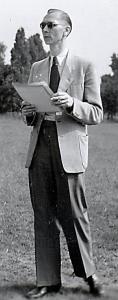 Walter Söthje beim Hochschule-Sportfest am 18.6.1952 in Celle (Foto: Adolf Meyer)