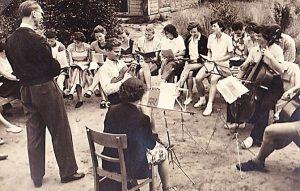 Gemeinsames Musizieren mit den Gästen